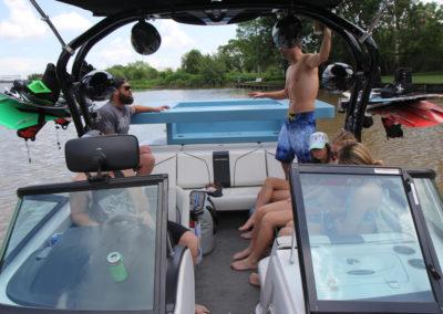 Transport on boat