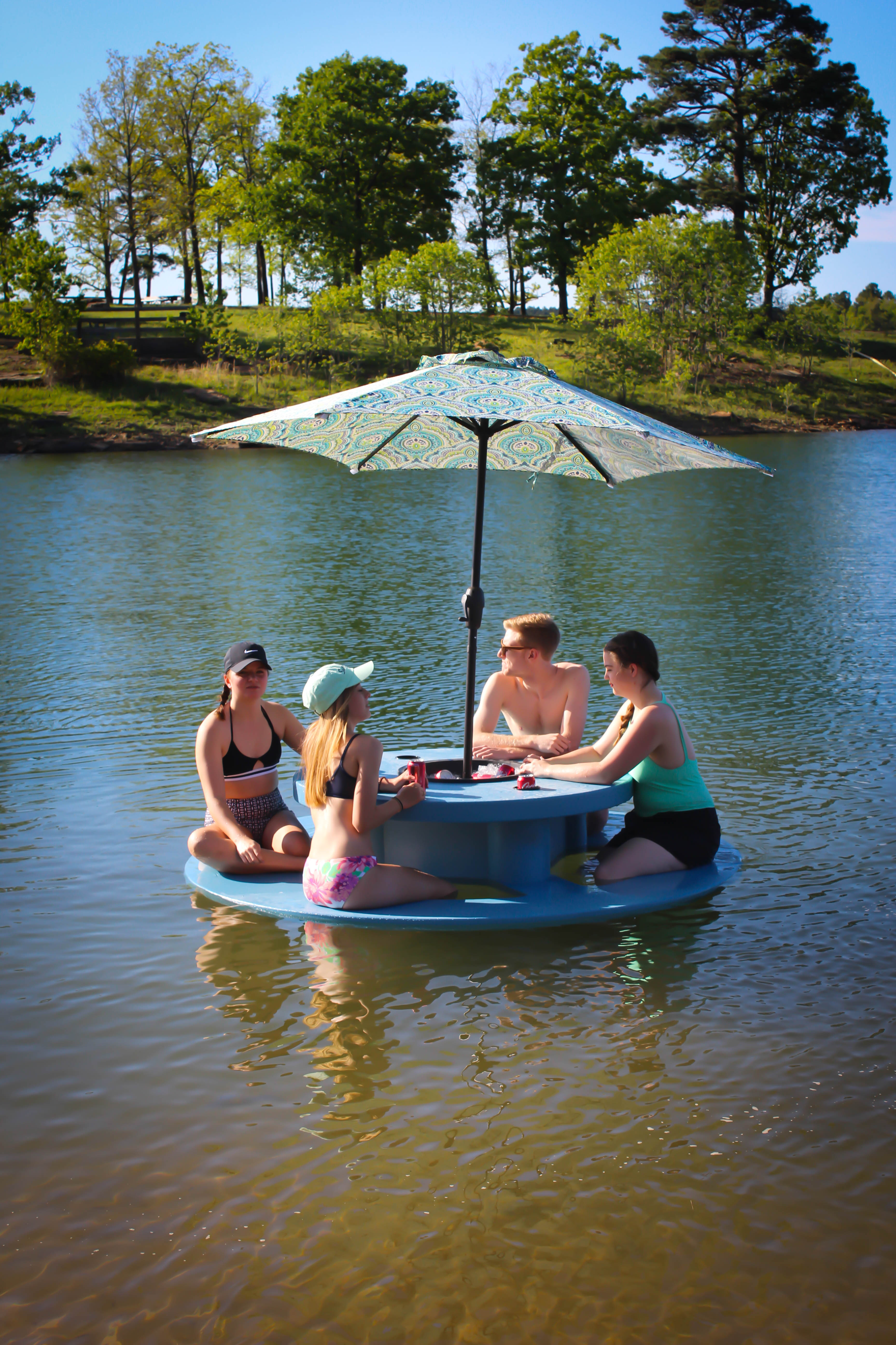 Round Floating Picnic Table Adult